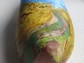"""Naar: """"van Gogh, Korenveld met Kraaien"""", detail"""