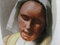 "Naar: ""Vermeer, Het melkmeisje"", detail"