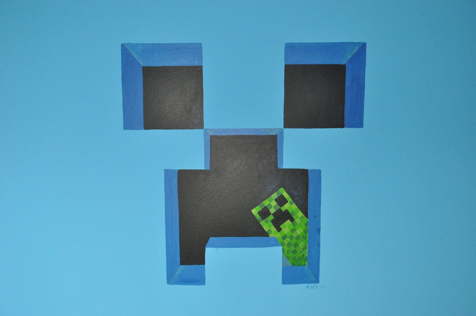 mural_minecraft_creeper