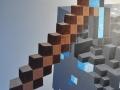 mural_minecraft_diamond_block_pickaxe_detail