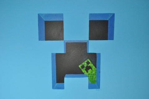 mural_minecraft_creeper